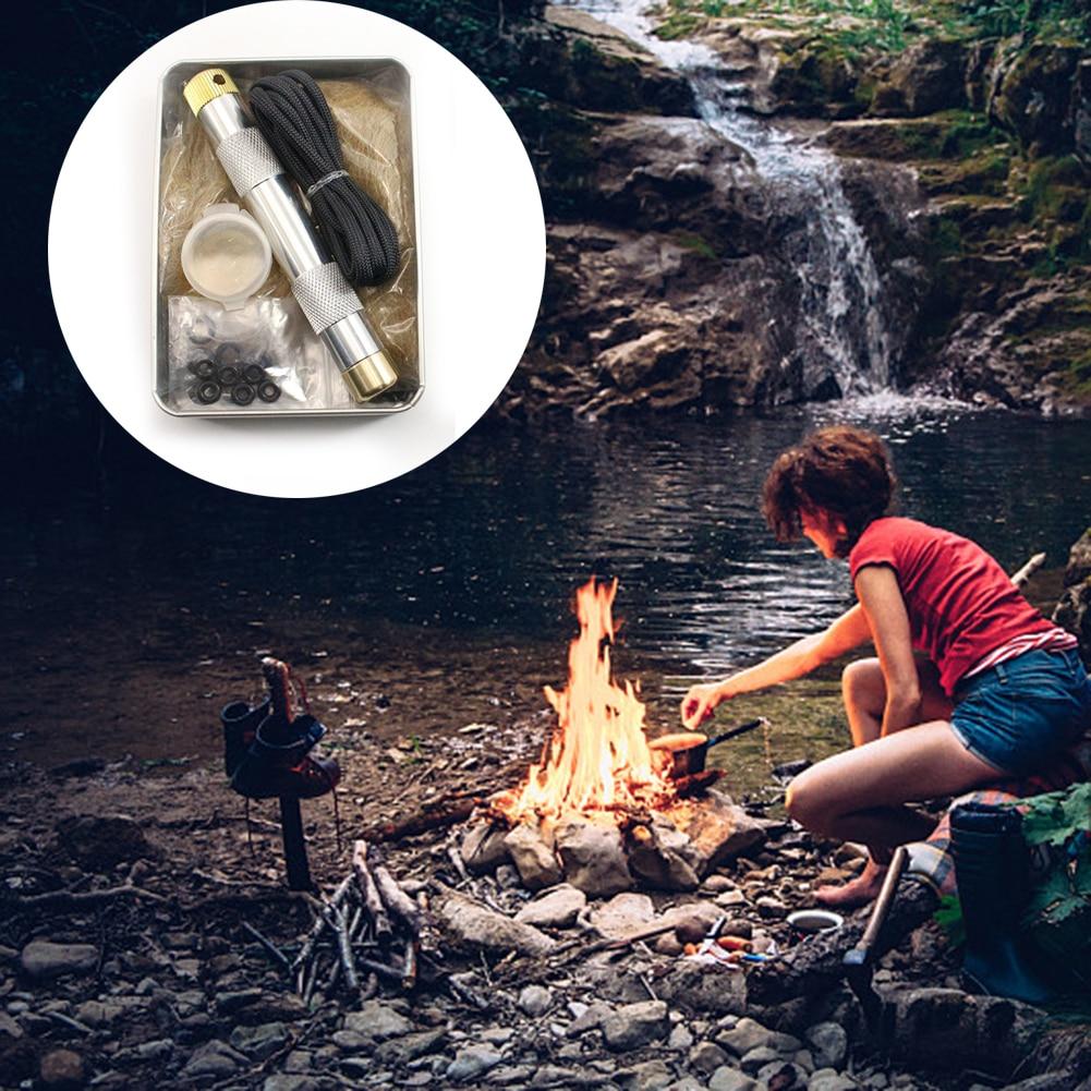 Piston Campfire Kit/Survival Fire Kit