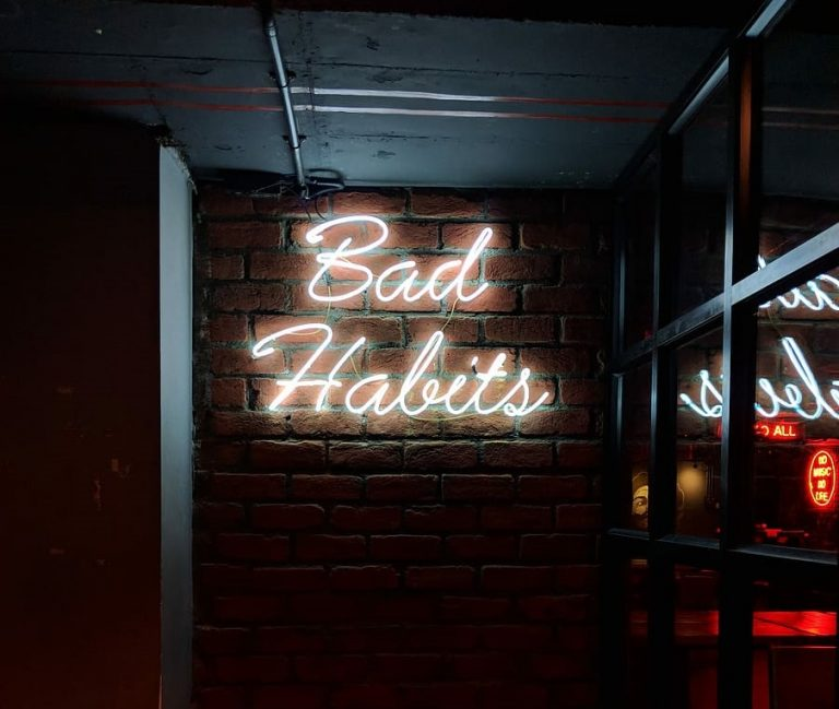 Ditching Our Bad Habits