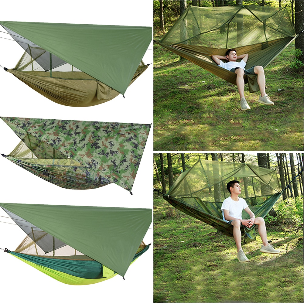 Dream Hammock With Mosquito Net And Canopy